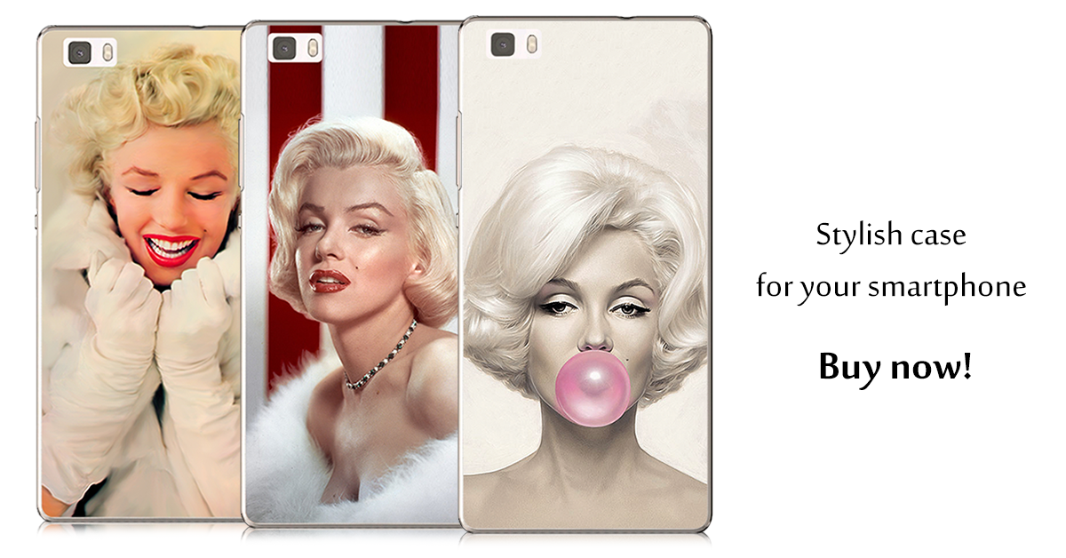 See all available cases with photos of Marilyn Monroe at XGSM.pl webshop