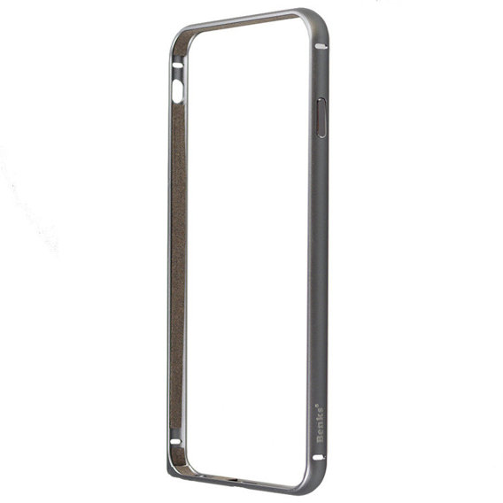 Apple iPhone 6/6S Plus Shock Proof 0.70 mm Curved Aluminium Frame - Space Grey