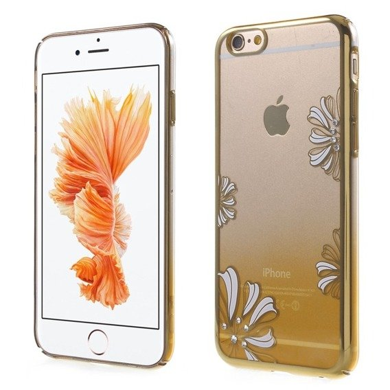 Gold Bumper + PC Back Case for iPhone 6/6S 4.7 - Yellow / Lucky Clover