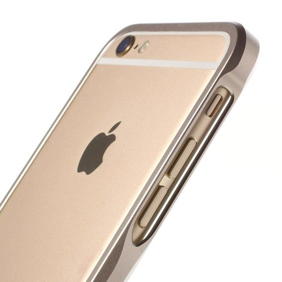 LJY Sword 6 Bumper Case for Apple iPhone 6/6S Plus 5.5 - Champagne Gold
