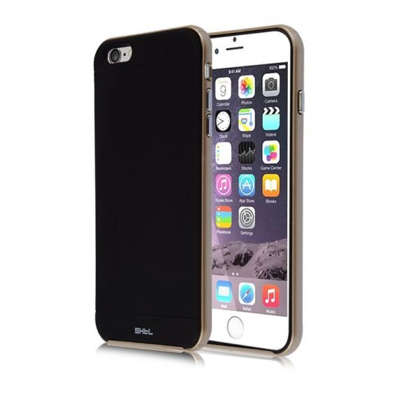 SHTL Bumper Shell Case for iPhone 6/6S Plus 5.5 - Gold