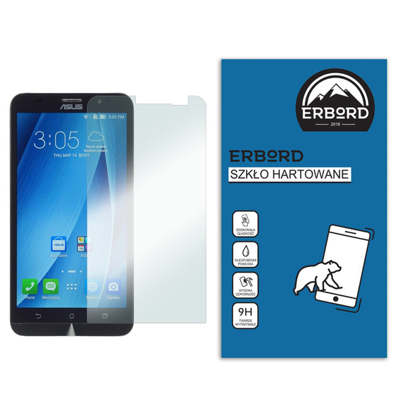 SHTL Premium Tempered Glass Screen Protector for Asus Zenfone 2 ZE551ML