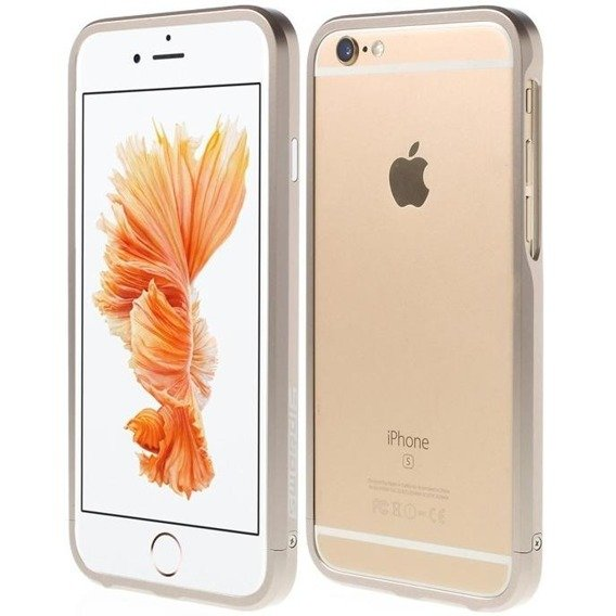 LJY Sword 6 Bumper Case Hülle für Apple iPhone 6/6S Plus 5.5 - Champagne Gold