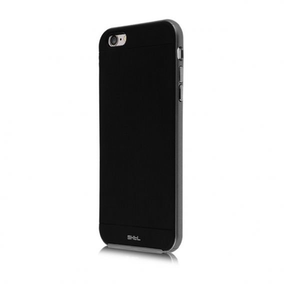 SHTL Bumper Shell Hülle für iPhone 6/6S Plus 5.5 - Grau