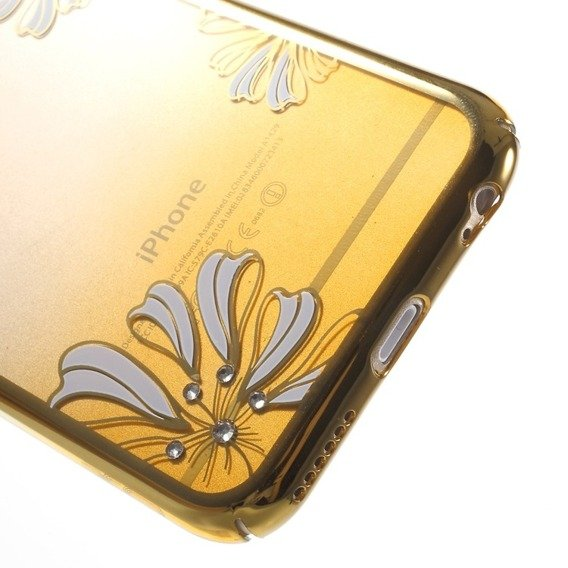 Etui Gold Bumper + PC Back iPhone 6/6S 4.7 - Yellow / Lucky Clover