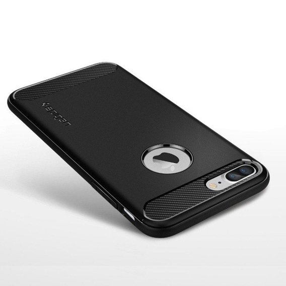 SPIGEN SGP Etui Rugged Armor iPhone 7/8 Plus 5.5 - Black