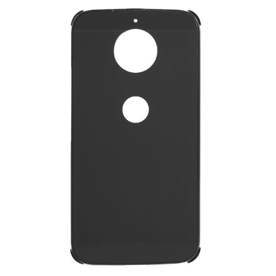 Czarne Etui Brushed Case Motorola Moto G5S Plus