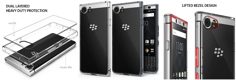 Etui Ringke Fusion do telefonu BlackBerry Keyone