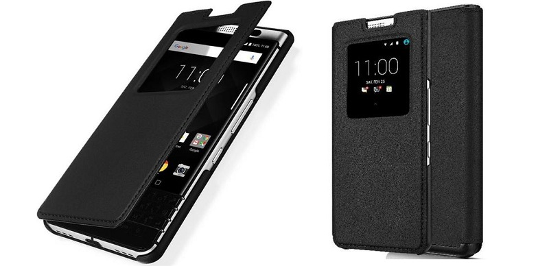 Oryginalne Etui Leather Smart Flip Case do telefonu BlackBerry KEYone