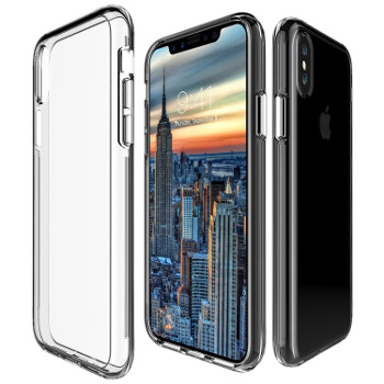 Bezbarwne Etui Simple Fusion Crystal Cover iPhone X