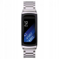 Bransoletka Stainless do Samsung Gear Fit 2 / Fit 2 Pro - Silver