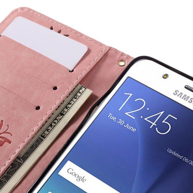 Livret De Conception De Zèbre Pour Samsung Galaxy J5 (2016) TBLa3