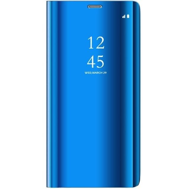 Cover samsung s9 clear view blue