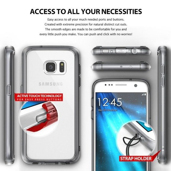 RINGKE Fusion Case Samsung Galaxy S7 - Crystal View