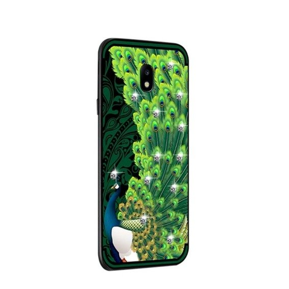 NXE Peacock Diamonds Elements Case for Samsung Galaxy J5 2017 - Green