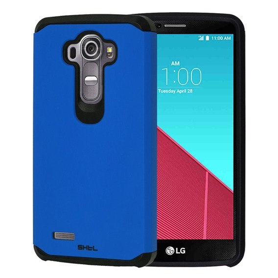 SHTL Dual Armor Case for LG G4 - Blue