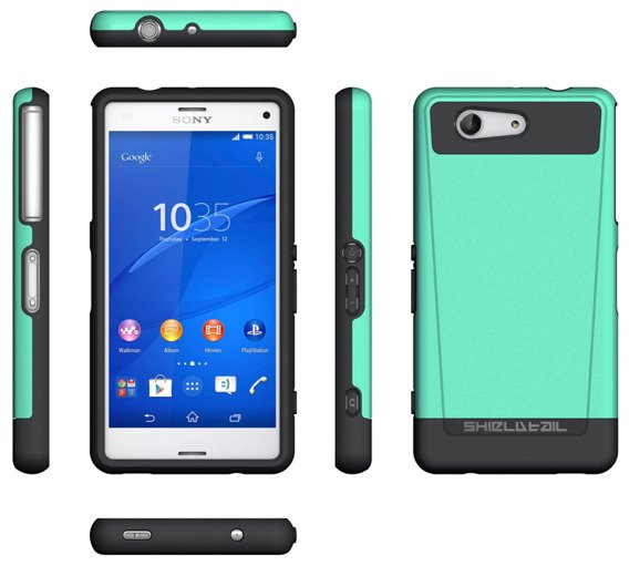 SHTL Dual Shell Case for Sony Xperia Z3 Compact - Mint