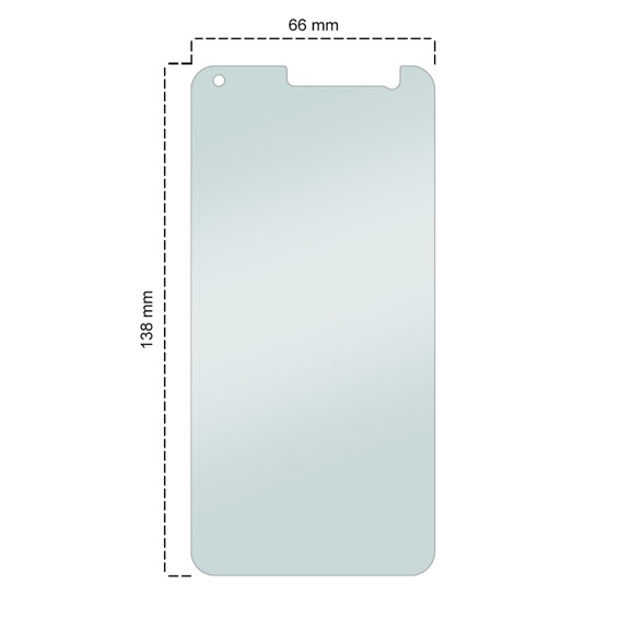 SHTL Premium Tempered Glass Screen Protector for Asus Zenfone 3 ZE520KL