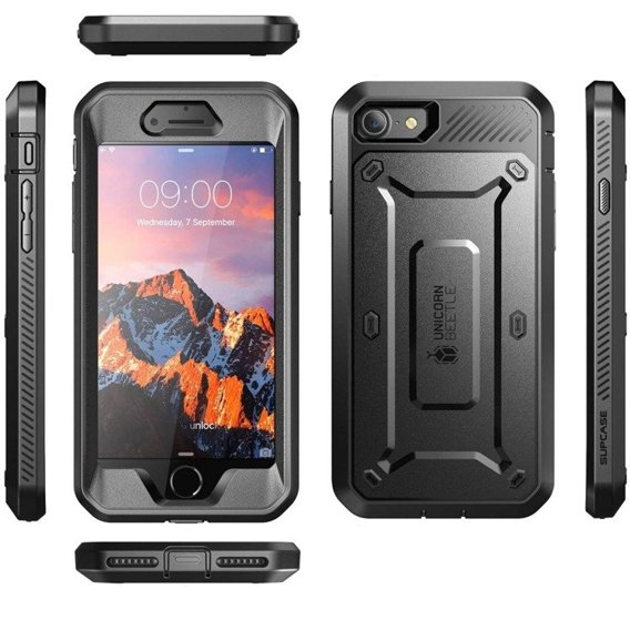 SUPCASE Beetle Defense Pro Series Case for iPhone 8/7 4.7 - black