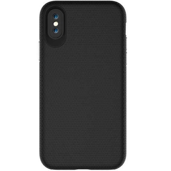 Double Tough Hülle für Apple iPhone X 5.8 - Schwarz