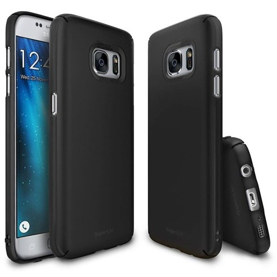 RINGKE Etui Slim Samsung Galaxy S7 - SF Black