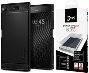 hot sale online 18f90 fc32a Czarne Etui SPIGEN SGP Etui Rugged Armor Sony Xperia XZ1 | Sklep XGSM.pl