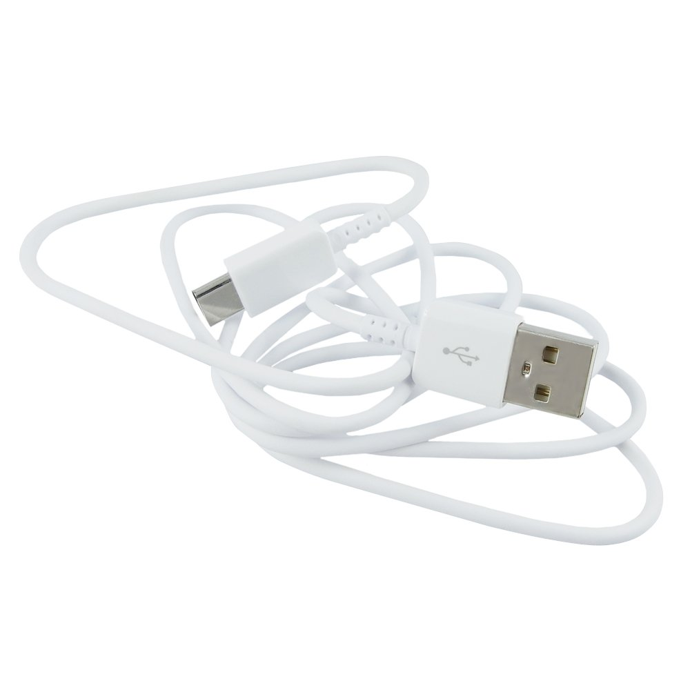 Biała Oryginalna Ładowarka Sieciowa SAMSUNG Galaxy S10S9S8 Plus Note 98 + Kabel USB Typ C bulk