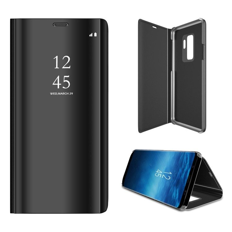 etui clear view standing cover samsung galaxy s9 plus black sklep. Black Bedroom Furniture Sets. Home Design Ideas