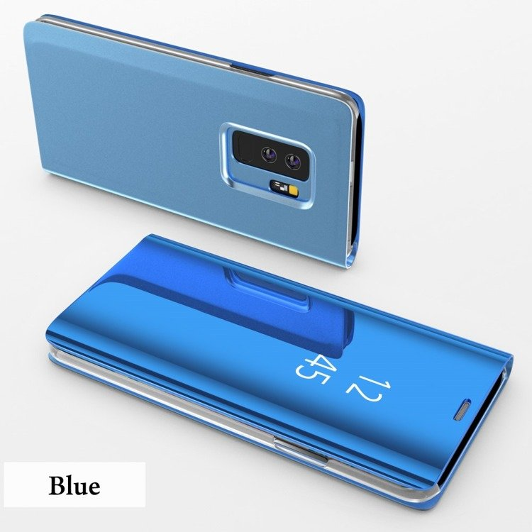 etui clear view standing cover samsung galaxy s9 plus blue sklep. Black Bedroom Furniture Sets. Home Design Ideas
