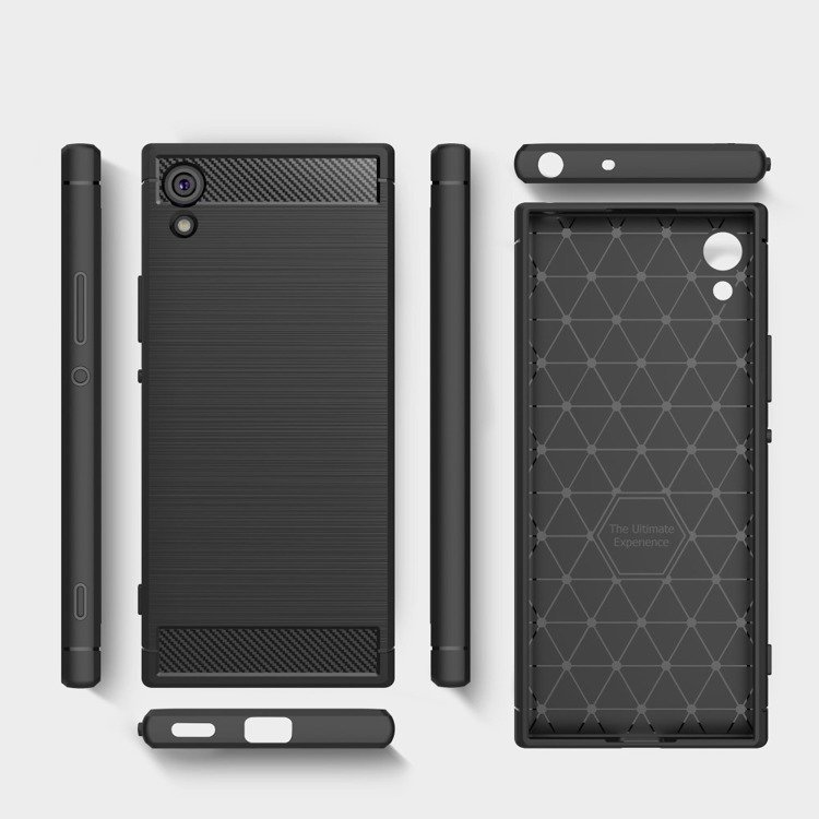 shtl etui carbon tpu armor sony xperia xa1 black sklep. Black Bedroom Furniture Sets. Home Design Ideas