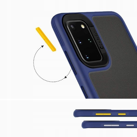 Etui SPIGEN do Samsung Galaxy S20, CIEL COLOR BRICK, Navy