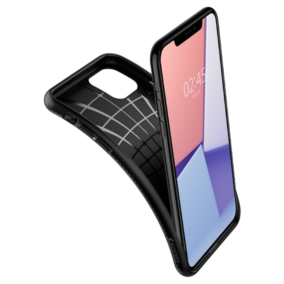 Etui SPIGEN do iPhone 11 Pro Max - Liquid Air - Matte Black