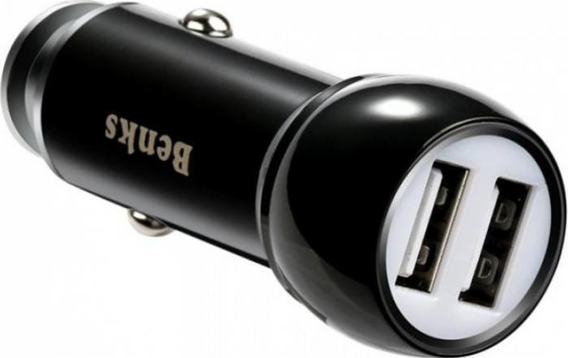 ROCK DITOR Dual Car Charger - Black