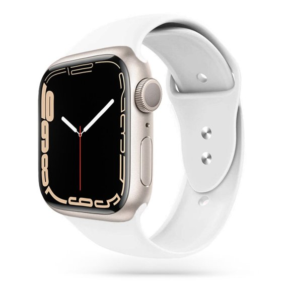 Biały Pasek Smoothband do Apple Watch 1/2/3/4 (42/44MM)