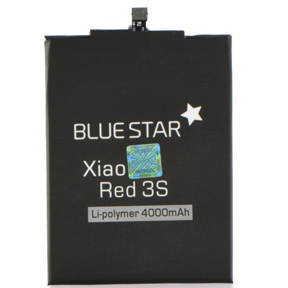 Blue Star Bateria do Xiaomi Redmi 3S 4000mAh