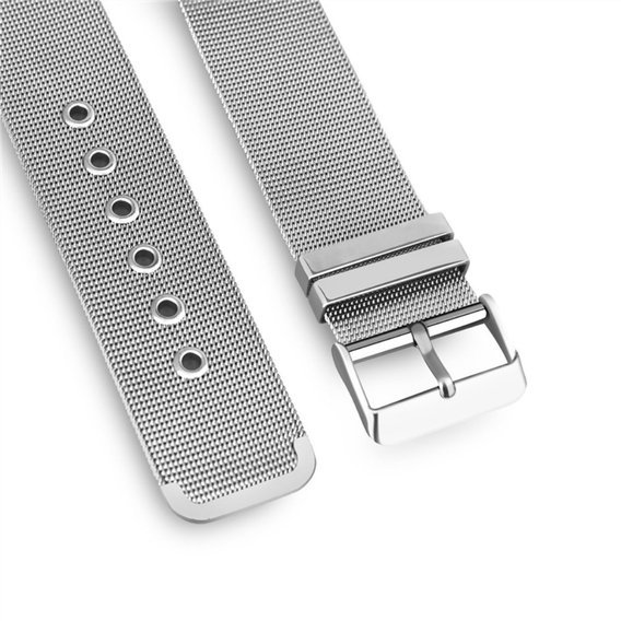 Bransoleta Milanese Buckle do Apple Watch 1/2/3/4/5 (38/40MM) - Silver