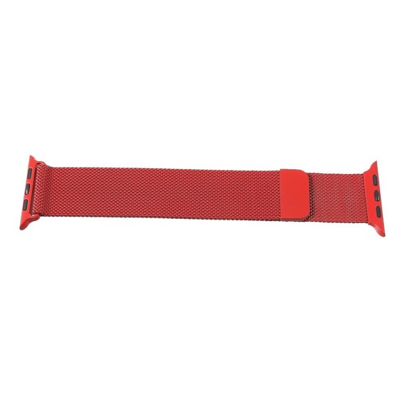 Bransoleta Milanese do Apple Watch 1/2/3/4/5 (38/40MM) - Red