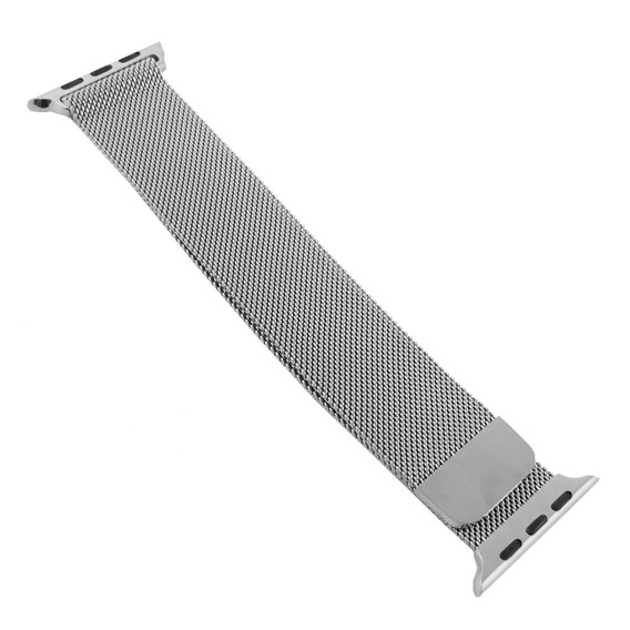 Bransoleta Milanese do Apple Watch 1/2/3/4/5 (38/40MM) - Silver
