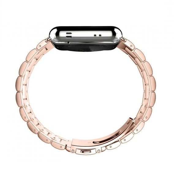 Bransoleta Stainless do Apple Watch 1/2/3/4/5 38/40MM - Rose Gold