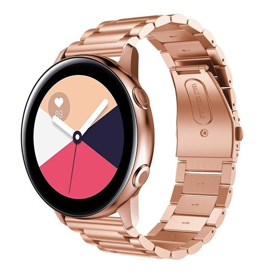 Bransoleta Stainless do Samsung Galaxy Watch Active SM-R500 - Rose Gold
