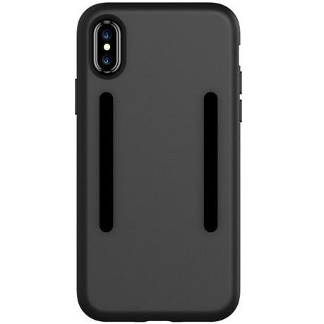 Czarne Etui Adaptare Shell TPU Case Apple iPhone X 5.8