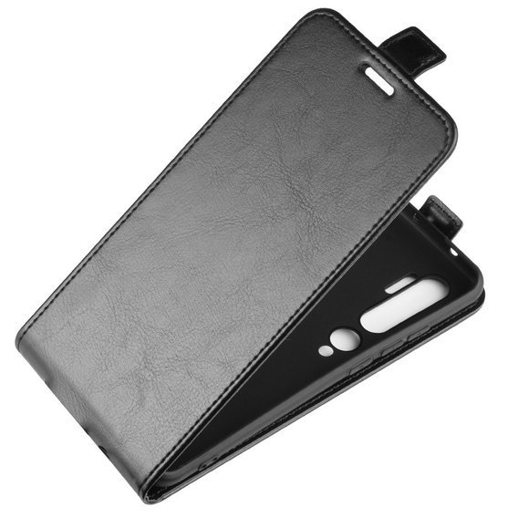 Czarne Etui Flexi Flip Slim do Xiaomi Mi Note 10/10 Pro