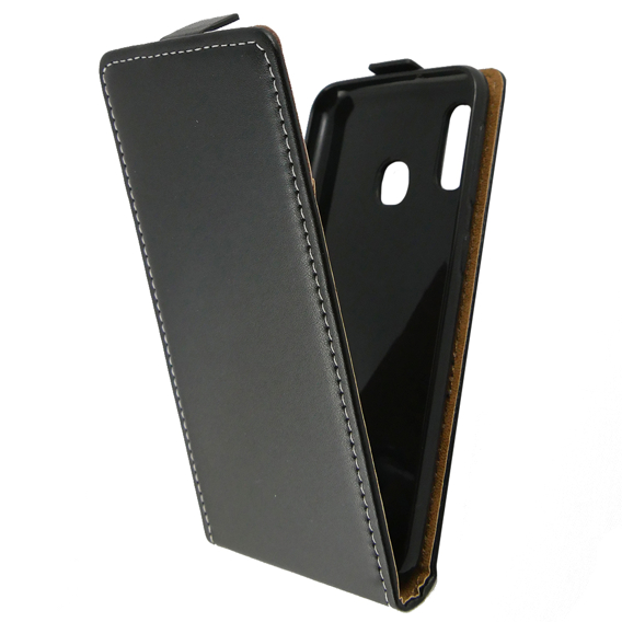 Czarne Etui Flexi Flip do Samsung Galaxy A20E