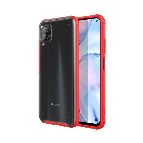 ERBORD Etui Anti-fingerprint Matte Case Huawei P40 Lite - Red