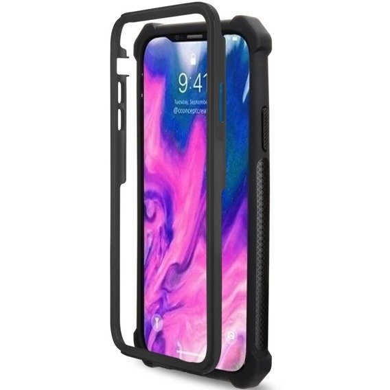 ERBORD Etui AntiDrop 2 Hybrid Case Apple iPhone XS 5.8 - Black