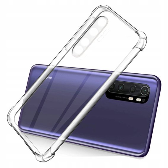 ERBORD Etui AntiDrop Hybrid Case do Xiaomi Mi Note 10 Lite - Transparent