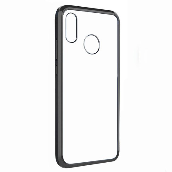 ERBORD Etui Fusion Case do Huawei P20 Lite - Black/Clear