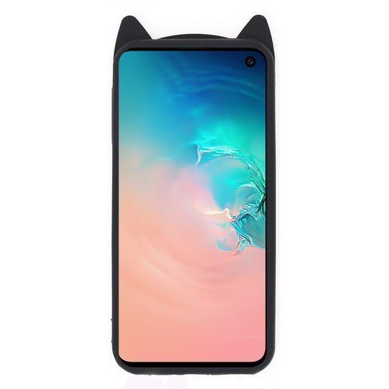 Etui 3D KOT do Samsung Galaxy S10e - Black