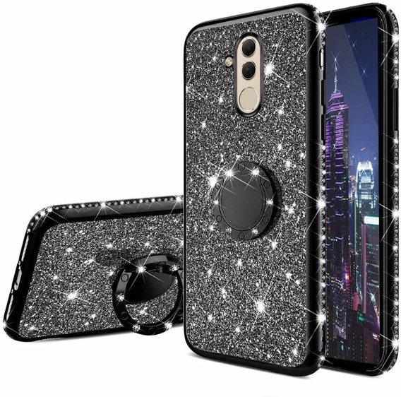 Etui Bling do Huawei Mate 20 Lite, Black