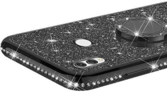 Etui Bling do Huawei P Smart 2019, Black